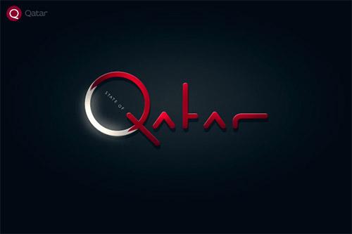 Qatar logo design