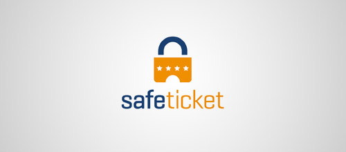 safe ticket lock logo