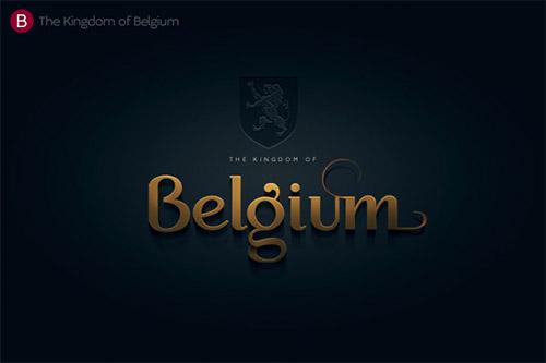 Belgium logotype design