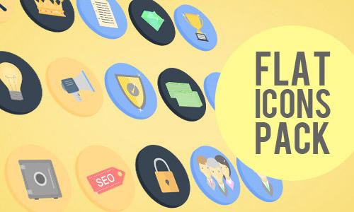 flat animated icons
