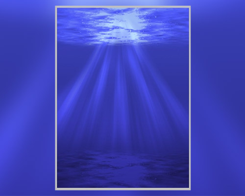 underwater sunrays photoshop tutorial