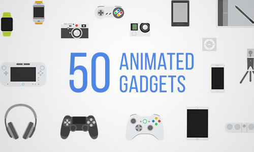 animated gadget icons