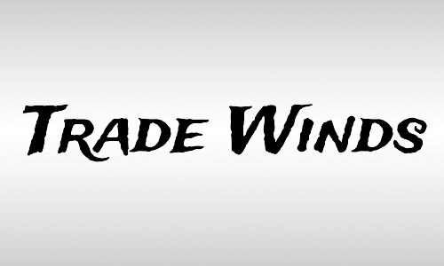 trade winds free italic fonts