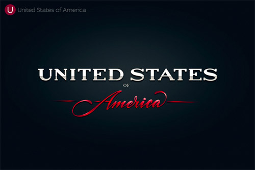 America logotype typo