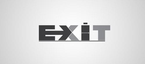 exit door logo