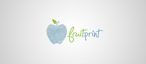 fruitprint finger logo