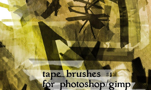 tape free brushes photoshop