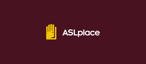 asl place door logo