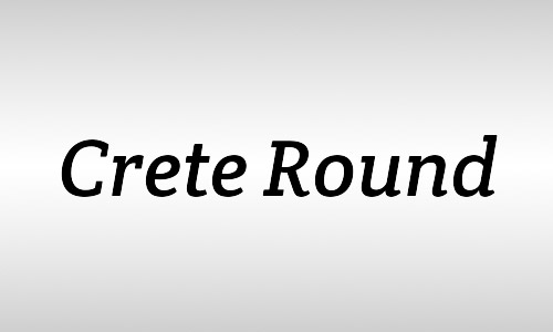 crete free italic fonts