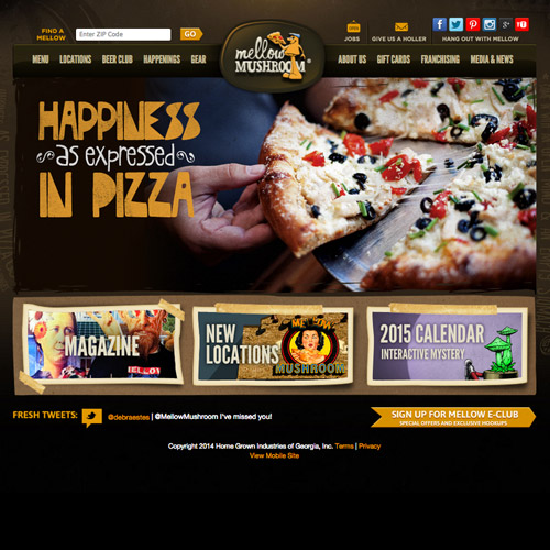 mellow mushroom pizza website
