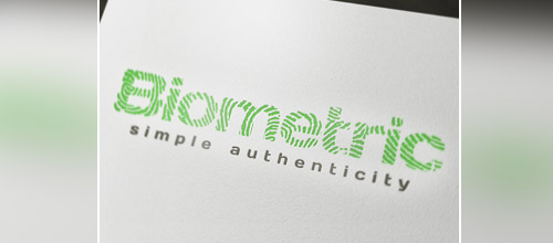 biometric fingerprint logo