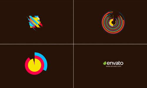 geometric logo opener