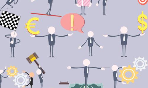 animated businessman icons