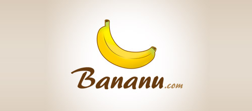 banana logo design