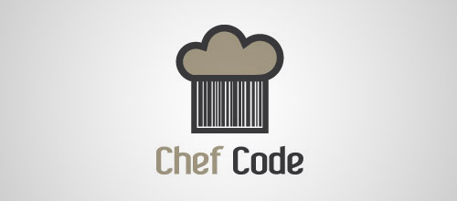 chef hat code logo