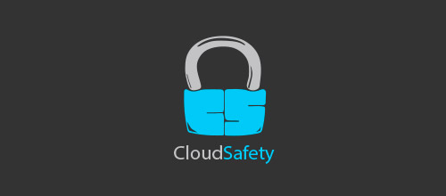 cloud safety lock logo