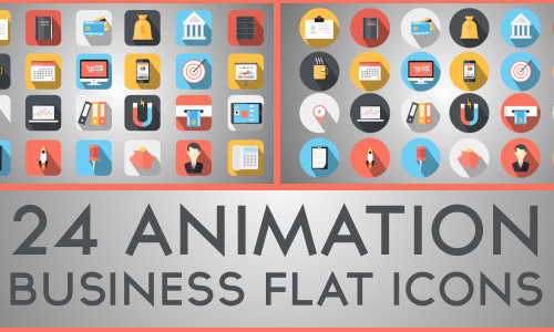 business animated icons
