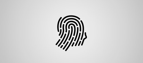 fingerprint profile logo
