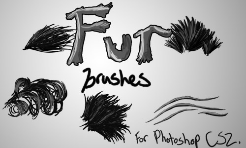 fur brush photoshop