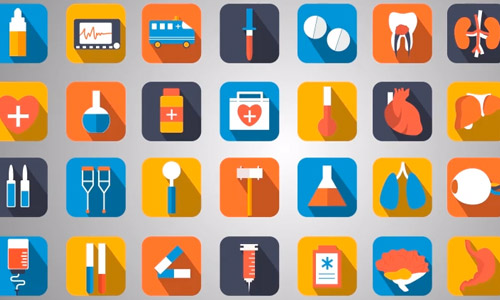 animated medical icons