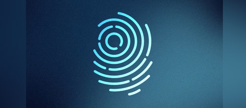 fingerprint mark logo