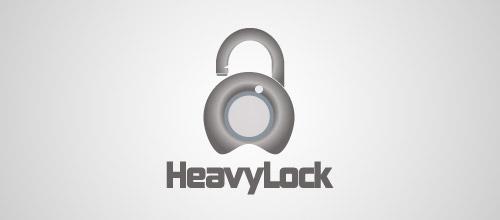 heavy lock logo