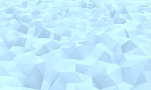 ice low poly background