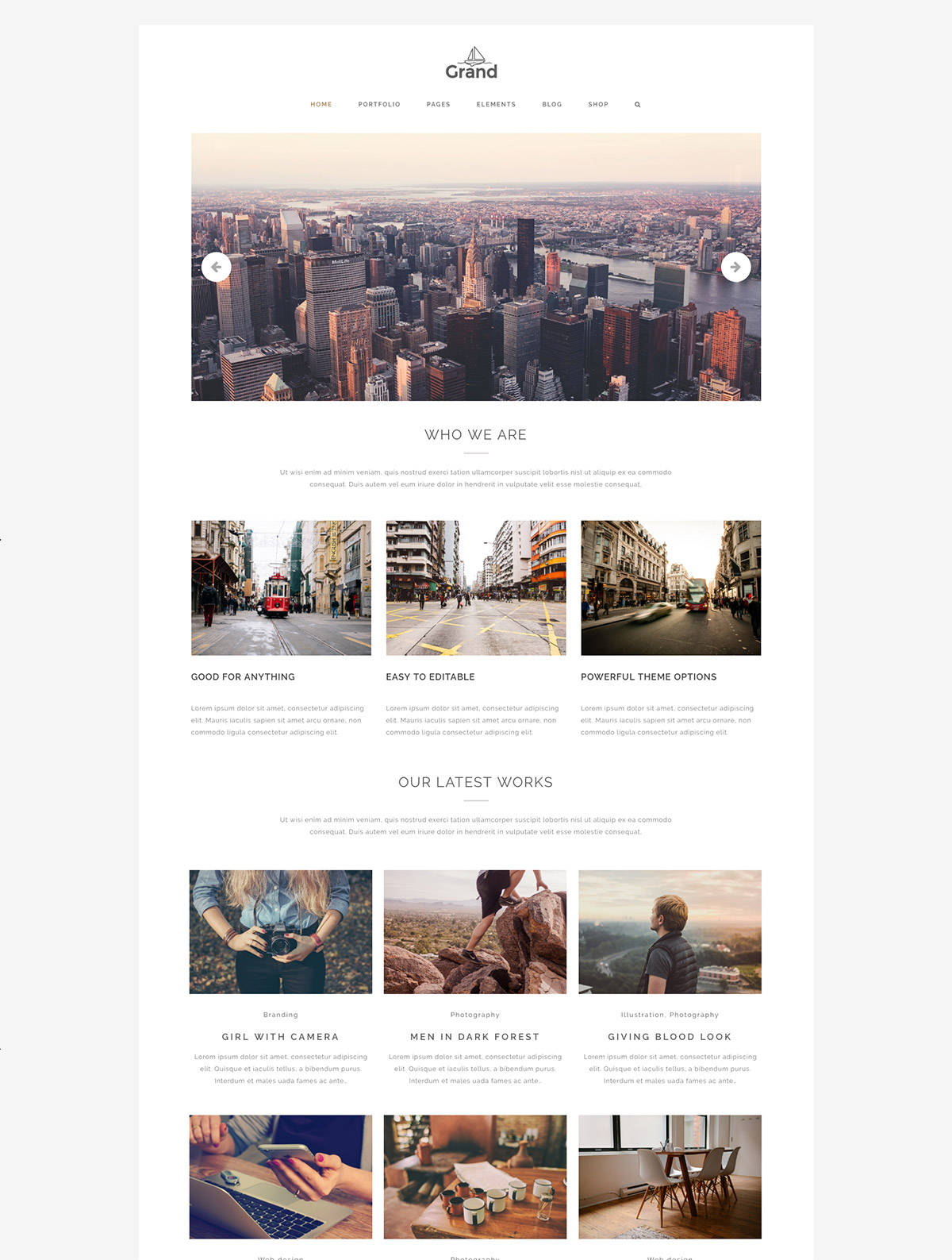 creative architect template