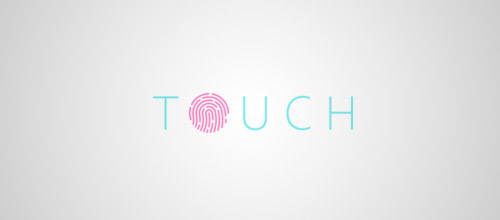 touch fingerprint logo