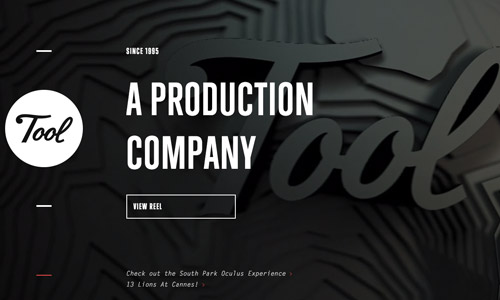 tool video web design