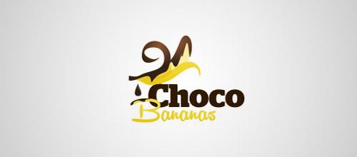 banana choco logo