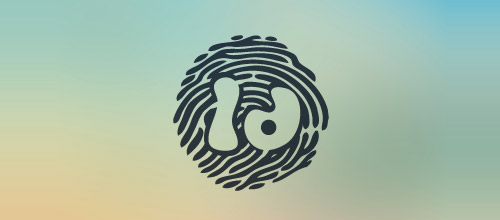 id fingerprint logo