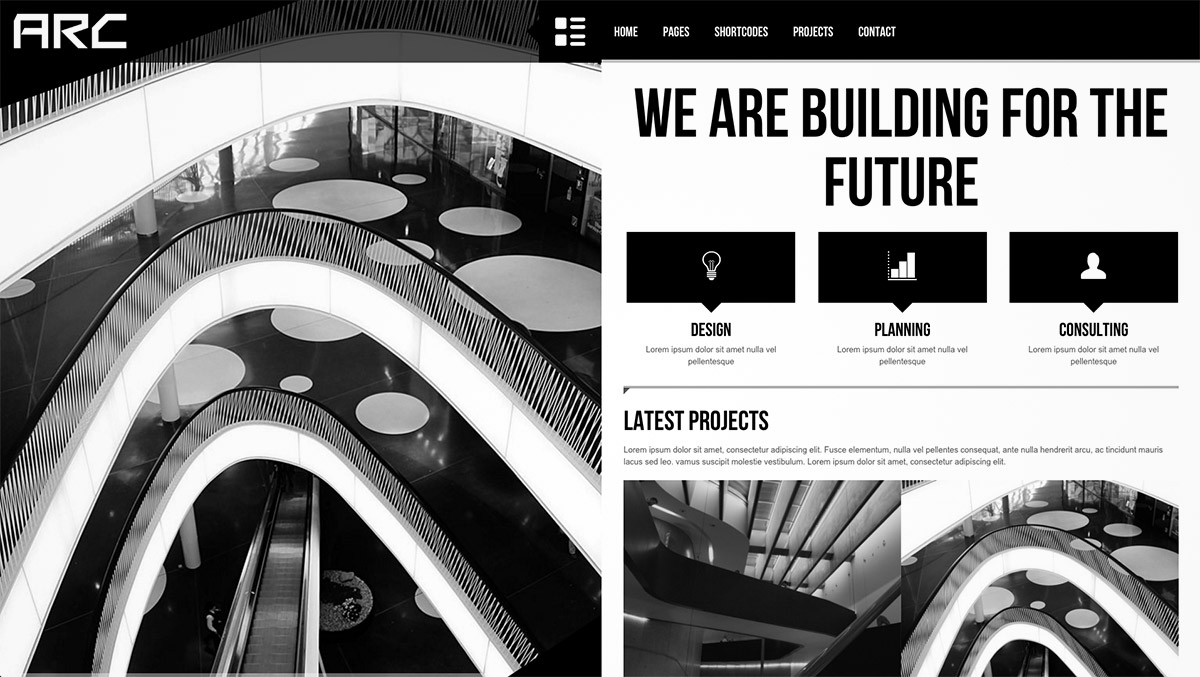 architect business wp