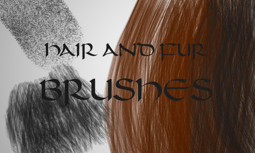 fur brushes photoshop