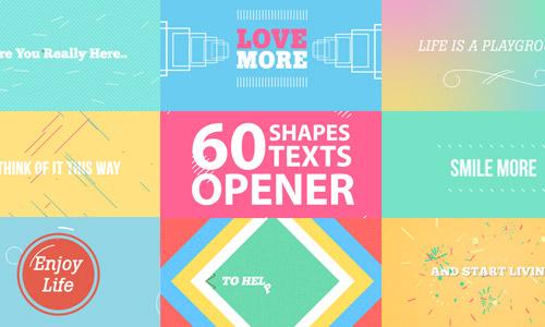 shapes opener premium