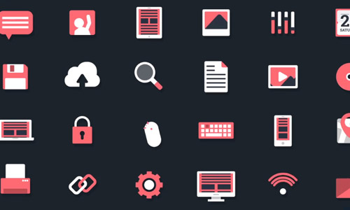 technology animated icons