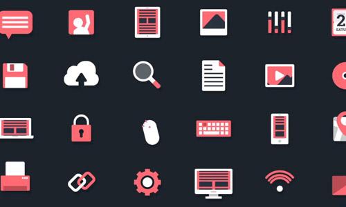 technology animated icons