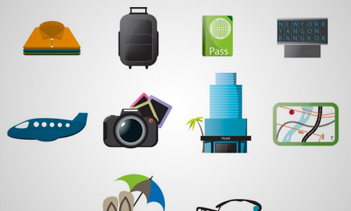 travel free icons