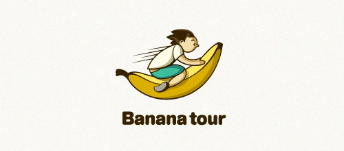 banana tour logo