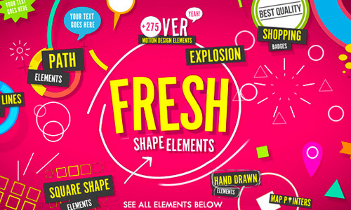 fresh shape elements