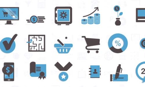 modern animated icons