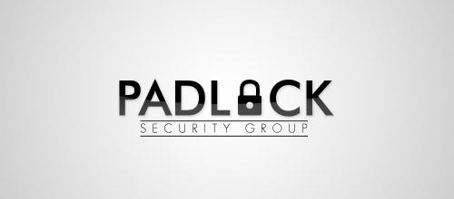 padlock logo design