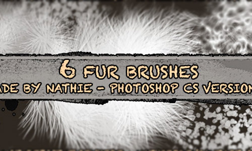 photoshop brush fur