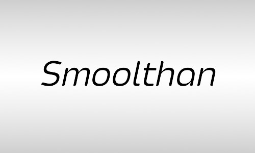 smoolthan free italic fonts