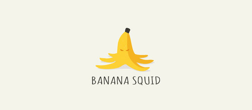 banana squid logo