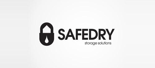 safedry padlock logo