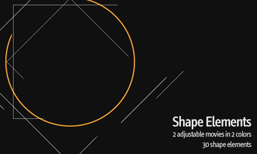 shape elements animation