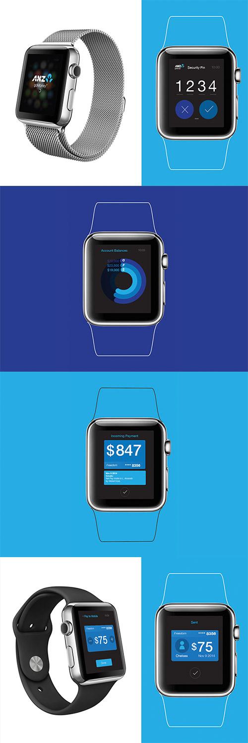 anz concept app iwatch