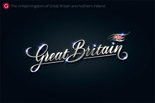 Britain logo design zergut