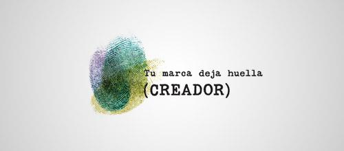 creador fingerprint logo